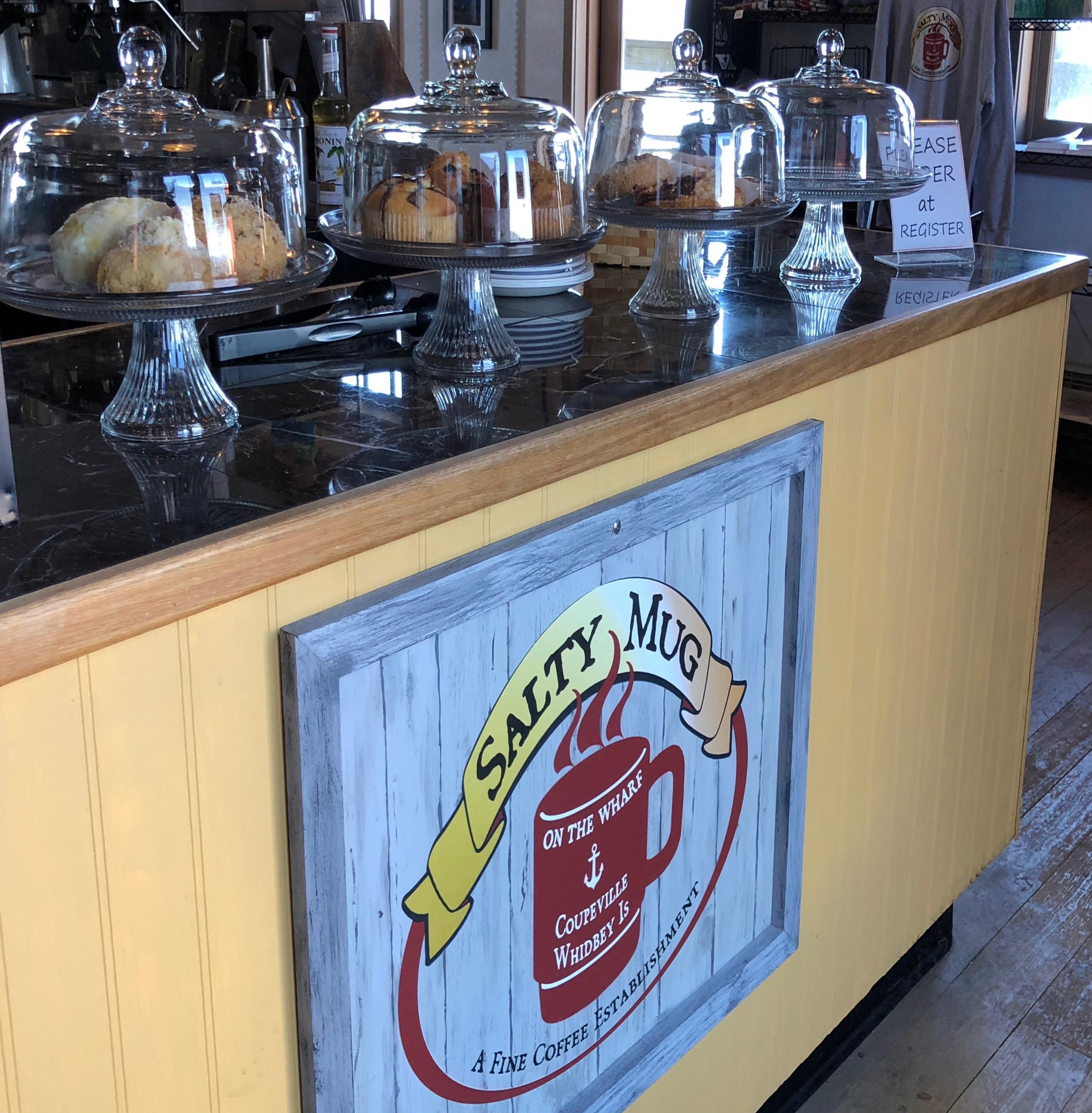 The Salty Mug Coupeville Washington, Coffee Shop