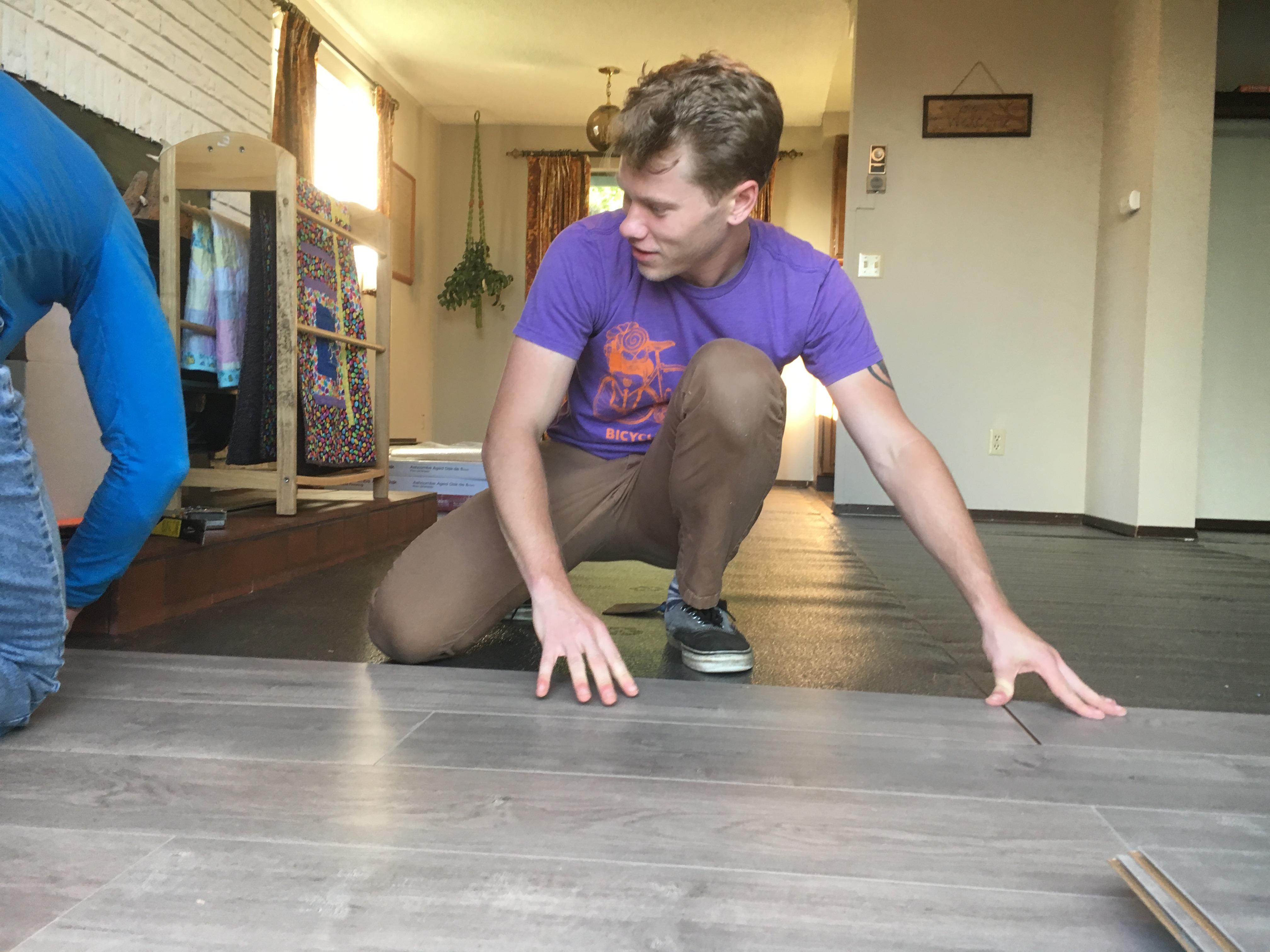 Flooring, Laying Laminate Flooring, Anita Johnston